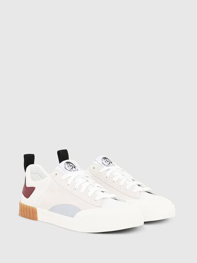 Diesel - S-BULLY LC, Blanc/Rouge - Baskets - Image 3