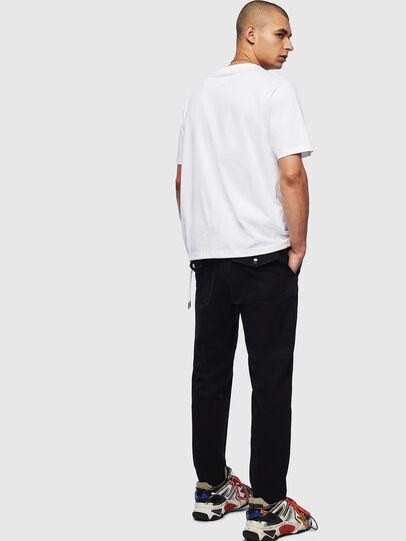Diesel - T-HUSTY, Blanc - T-Shirts - Image 8