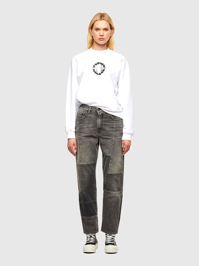 Diesel - F-ANG-R30, Blanc - Pull Cotton - Image 4