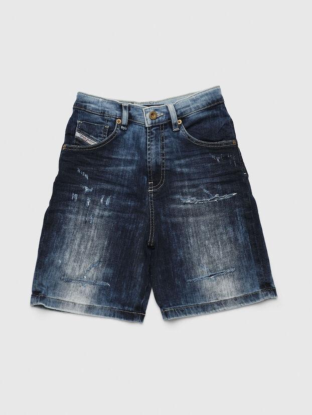 PBRON, Bleu moyen - Shorts