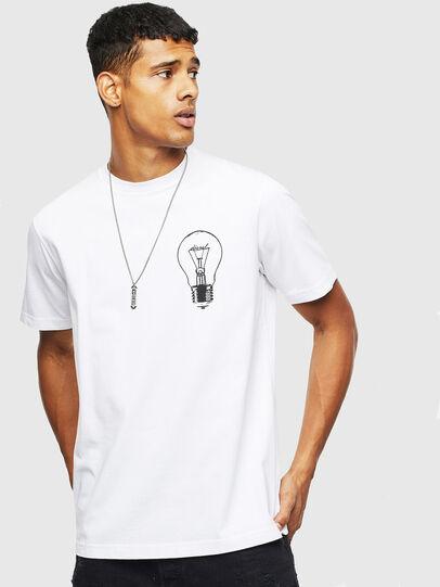 Diesel - T-JUST-T22, Blanc - T-Shirts - Image 1