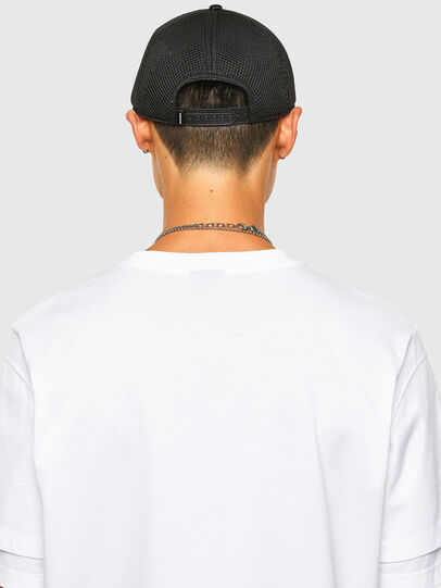 Diesel - T-FONTAL, Blanc - T-Shirts - Image 4