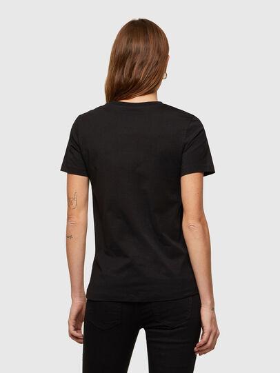 Diesel - T-SILY-K9, Noir - T-Shirts - Image 2