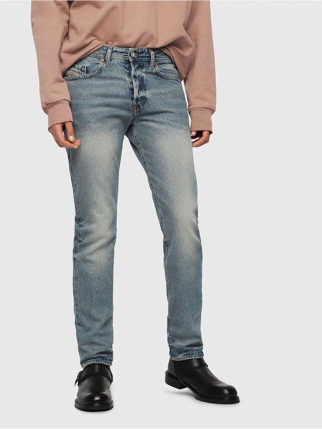 Diesel - Buster 0076I, Bleu Clair - Jeans - Image 1