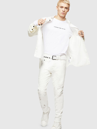 Diesel - Mharky 069GY, Blanc - Jeans - Image 7