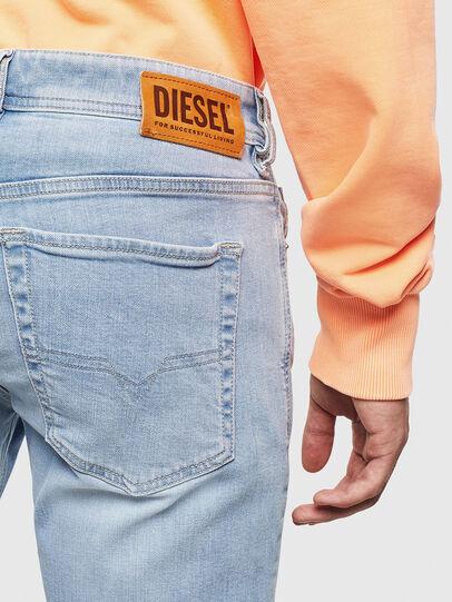 Diesel - Sleenker 009BJ, Bleu Clair - Jeans - Image 4