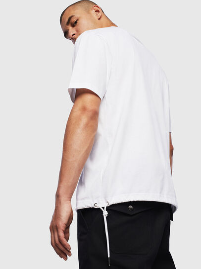Diesel - T-HUSTY, Blanc - T-Shirts - Image 4