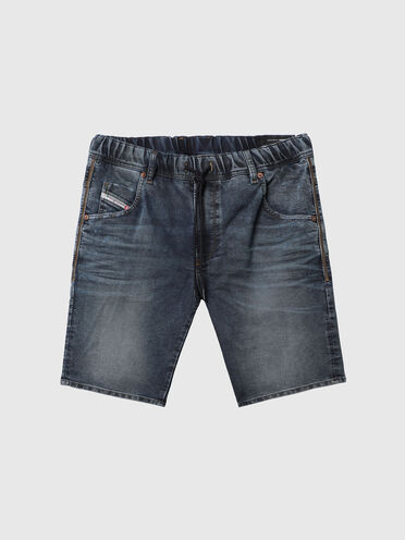Short slim en JoggJeans® traité