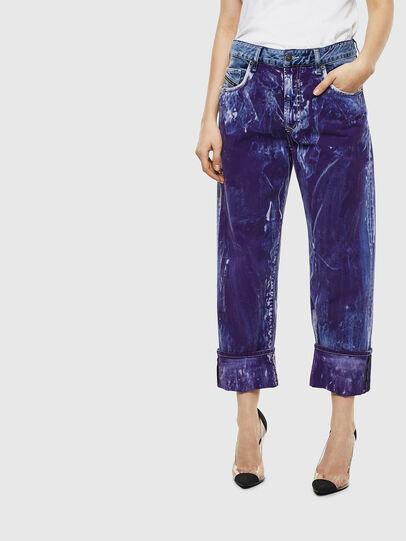 Diesel - D-Reggy 069NW, Bleu moyen - Jeans - Image 1