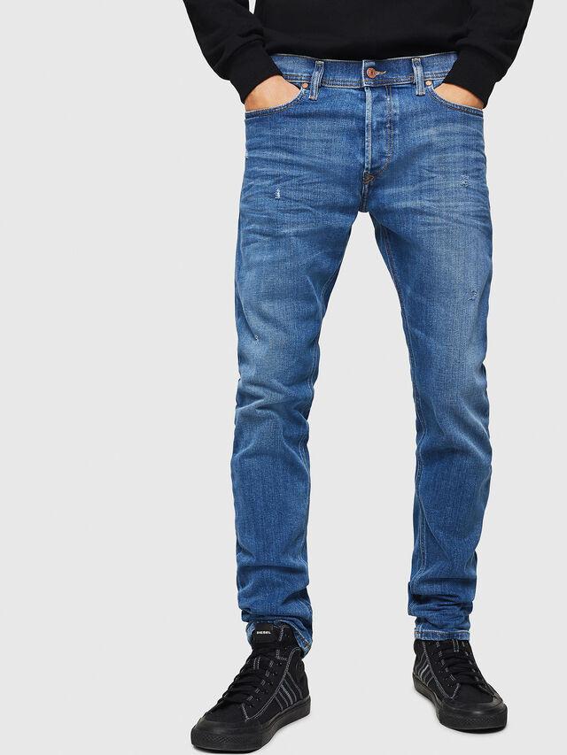 19514a015d988 TEPPHAR-X 083AX Homme: Slim Jeans Bleu clair   Diesel