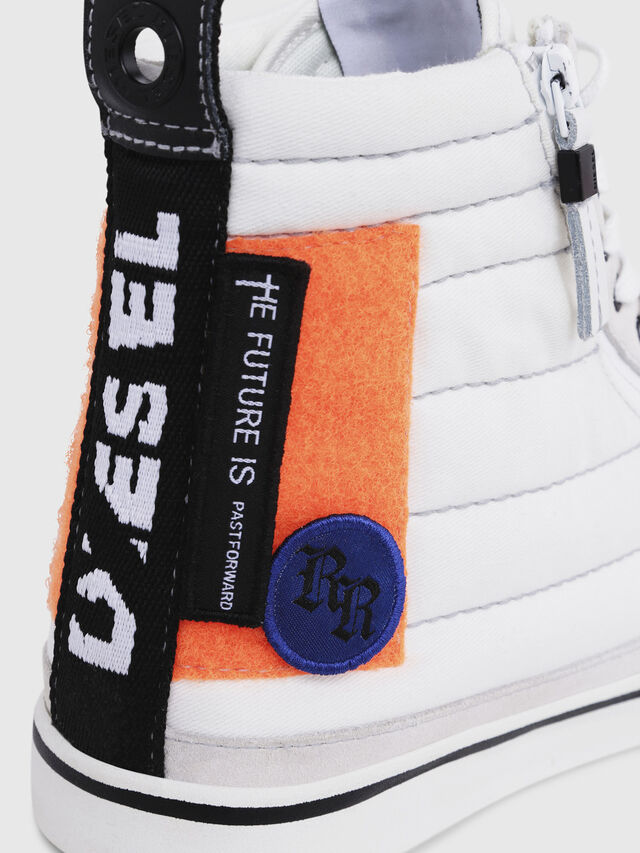 Diesel - D-VELOWS MID PATCH, Polychrome/Blanc - Baskets - Image 5