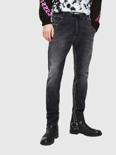 Diesel - Krooley JoggJeans 0094Q, Noir/Gris foncé - Jeans - Image 1