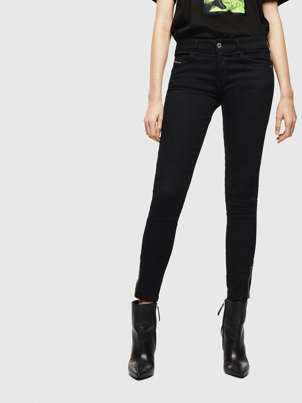 Slandy Low 069EF, Noir/Gris foncé - Jeans