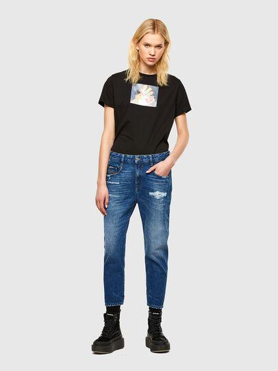 Diesel - Fayza 0079R, Bleu moyen - Jeans - Image 5
