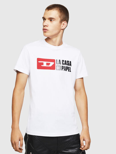 Diesel - LCP-T-DIEGO-CASA, Blanc - T-Shirts - Image 1