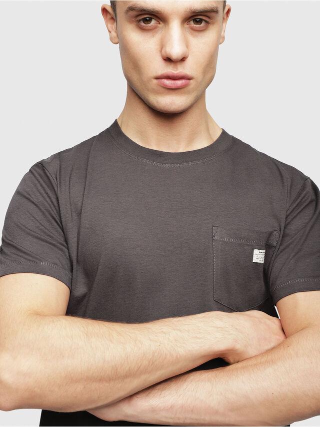 Diesel - UMLT-JAKE, Gris foncé - T-Shirts - Image 3