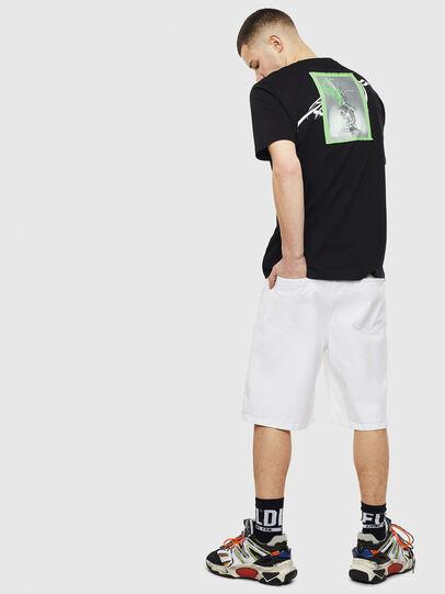Diesel - T-JUST-T11, Noir - T-Shirts - Image 4