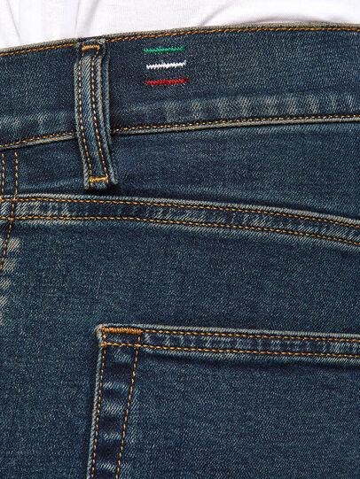 Diesel - D-Strukt 0093J, Bleu Foncé - Jeans - Image 5
