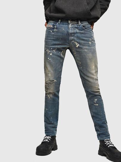 Diesel - Thommer JoggJeans 0870X, Bleu moyen - Jeans - Image 1