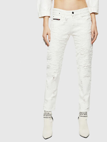 Diesel - D-Rifty 069GY, Blanc - Jeans - Image 1