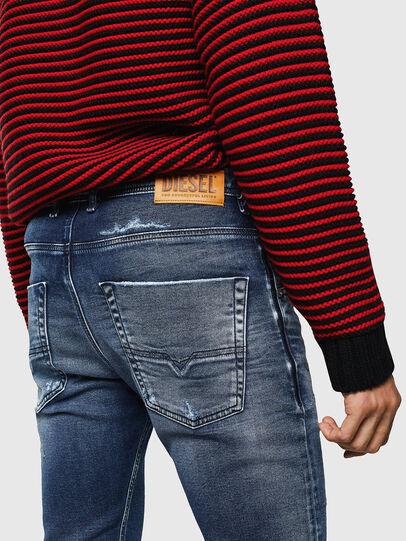 Diesel - Krooley JoggJeans 0096M, Bleu Foncé - Jeans - Image 4