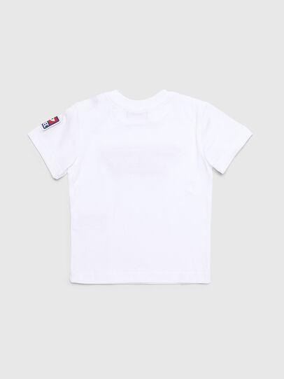 Diesel - TJUSTDIVISIONB-D, Blanc - T-shirts et Hauts - Image 2