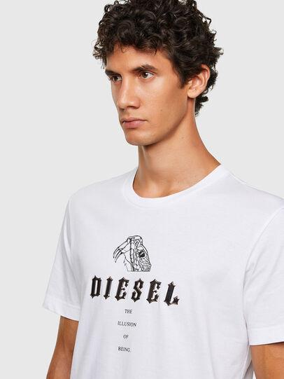 Diesel - T-DIEGOS-N30, Blanc - T-Shirts - Image 3