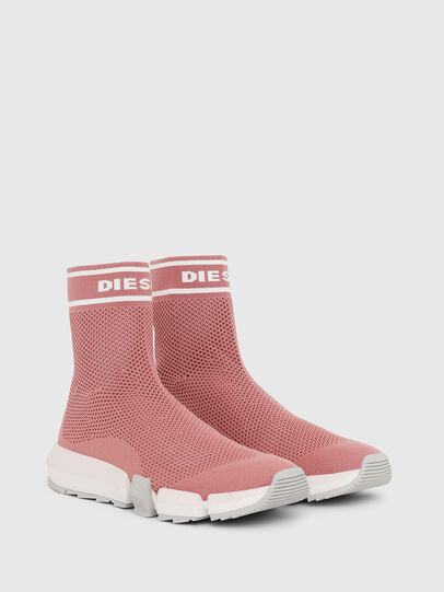 Diesel - H-PADOLA NET W, Rose - Sneaker - Image 2