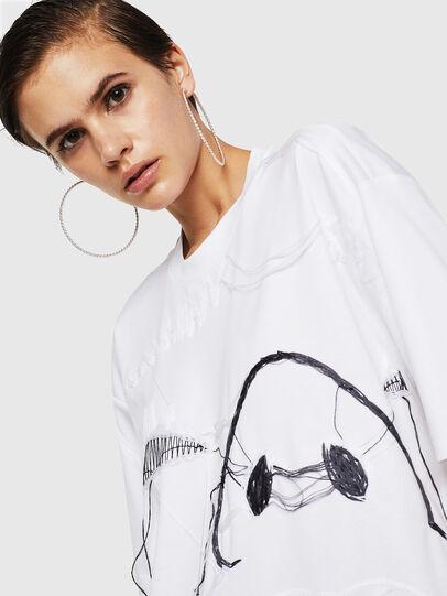 Diesel - TELIX, Blanc - T-Shirts - Image 4