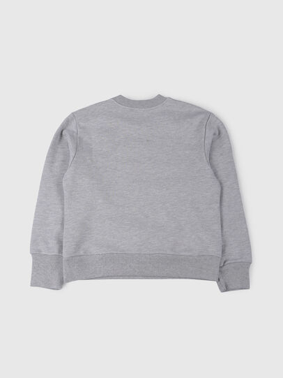 Diesel - SCREWDIVISION OVER, Gris - Pull Cotton - Image 2