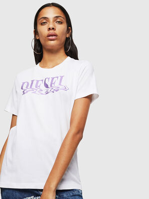 T-SILY-WN, Blanc/Rose - T-Shirts