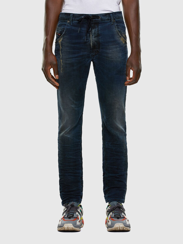 Krooley JoggJeans 069NP, Bleu Foncé - Jeans
