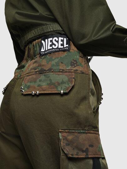 Diesel - P-THENA-A, Vert Camouflage - Pantalons - Image 2