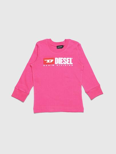 Diesel - TJUSTDIVISIONB ML-R, Rose - T-shirts et Hauts - Image 1