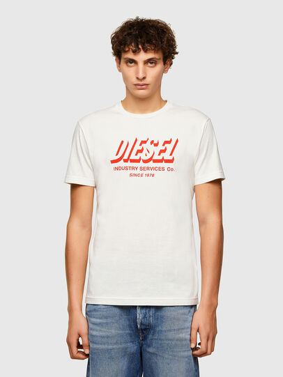 Diesel - T-DIEGOS-A5, Blanc - T-Shirts - Image 1