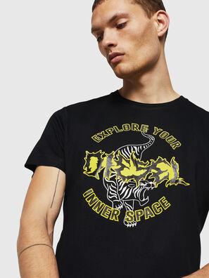 T-DIEGO-B15, Noir - T-Shirts