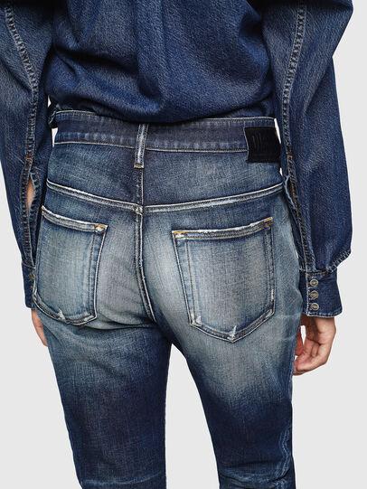Diesel - Fayza 0092I, Bleu Foncé - Jeans - Image 5