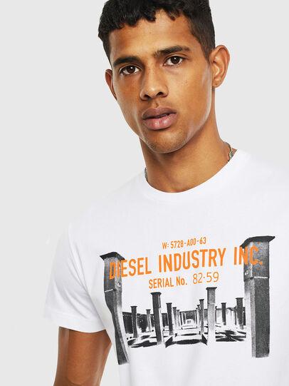 Diesel - T-DIEGO-S13, Blanc - T-Shirts - Image 3