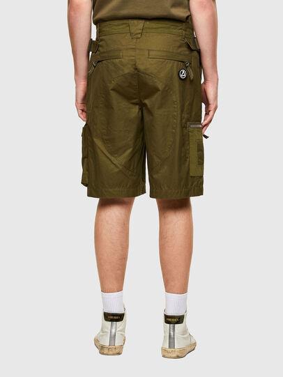 Diesel - P-CYAN-SHORT, Vert Militaire - Shorts - Image 2