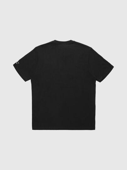 Diesel - VE-T-JUST-SMARCO, Noir - T-Shirts - Image 2