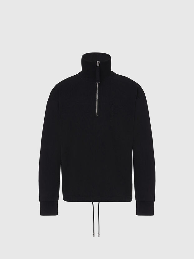 S-STUFF, Noir - Pull Cotton