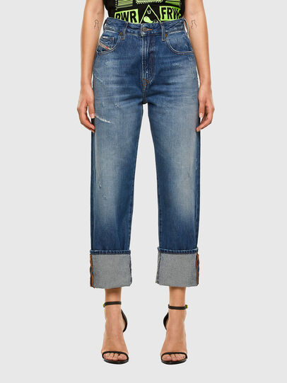 Diesel - D-Reggy 0097B, Bleu moyen - Jeans - Image 1