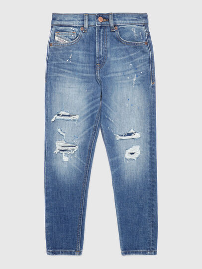 Diesel - D-VIDER-J, Bleu Clair - Jeans - Image 1