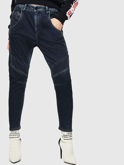 Diesel - Fayza JoggJeans 069HY, Bleu Foncé - Jeans - Image 1