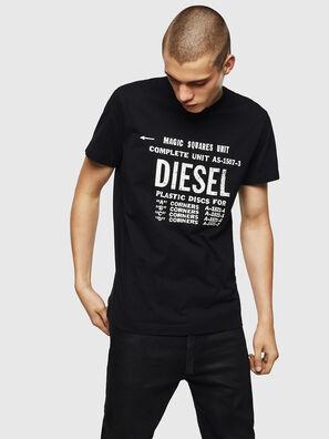 T-DIEGO-B6, Noir - T-Shirts