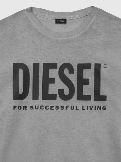 Diesel - T-SILY-WX, Gris foncé - T-Shirts - Image 3