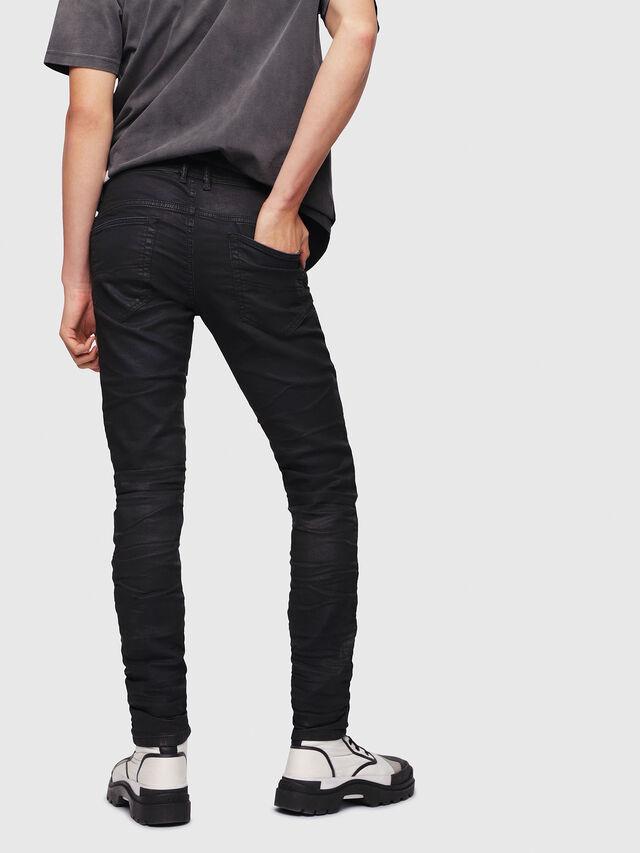 Diesel - Thommer JoggJeans 0688U, Noir/Gris foncé - Jeans - Image 3