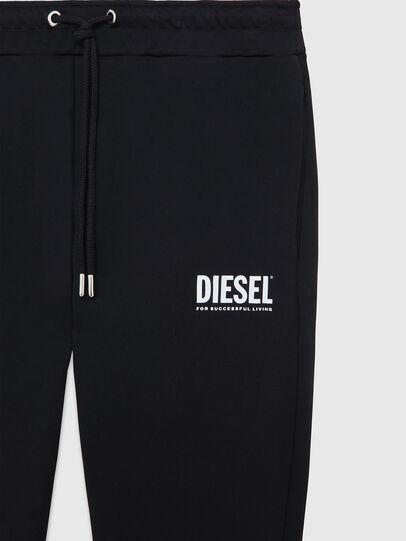 Diesel - P-TARY-LOGO, Noir - Pantalons - Image 3