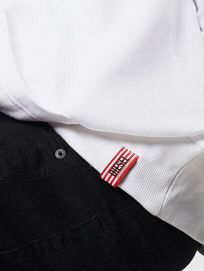 Diesel - LR-S-GIRK-HOOD-VIC, Blanc - Pull Cotton - Image 5