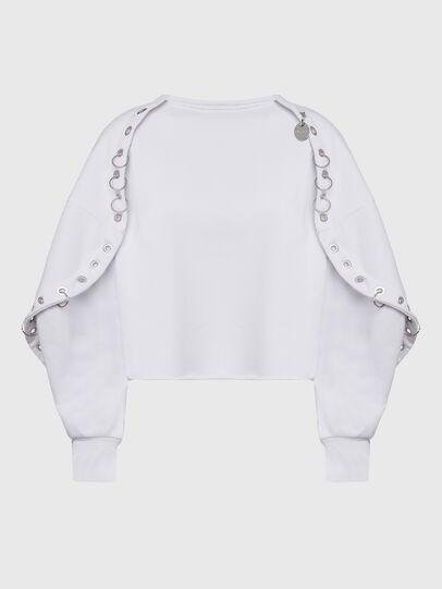 Diesel - F-OLL, Blanc - Pull Cotton - Image 1